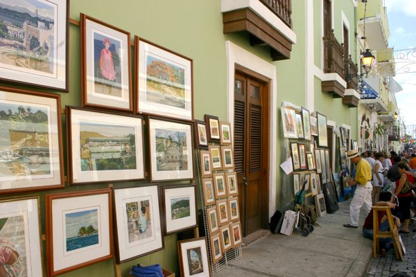 Old San Juan Arts and Crafts Festival